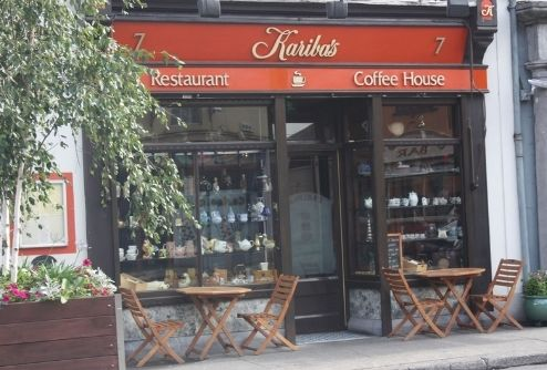 Karibas Coffee Shop - Front